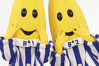 Bananas in Pyjamas Face Budget Cuts.