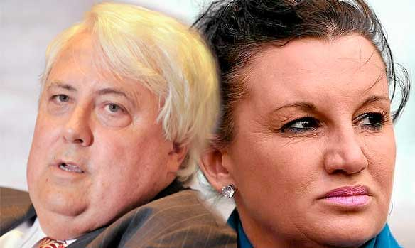 Palmer and Lambie no longer BFF.
